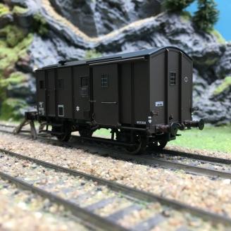 Fourgon M sans feu de fin convoi SNCF Ep IIIa-HO 1/87-EPM E510209