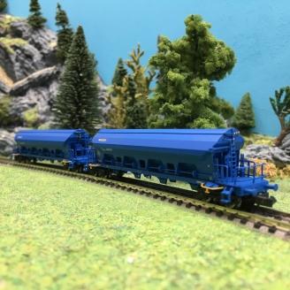 2 wagons trémie Nacco Ep VI-N 1/160-ARNOLD HN6390
