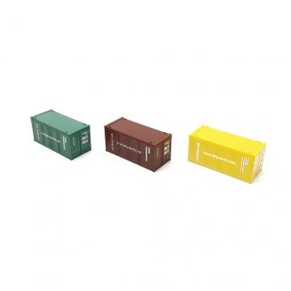 3 Containers-N 1/160-FLEISCHMANN 910220