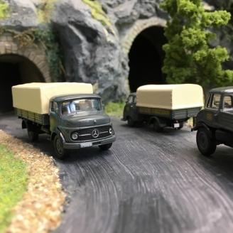 Coffret de 3 Camions DB-HO 1/87-SCHUCO 452646200