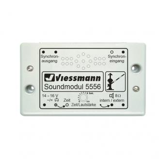 """Module sonore """"passage à niveau""""-Toutes échelles-VIESSMANN 5556"""