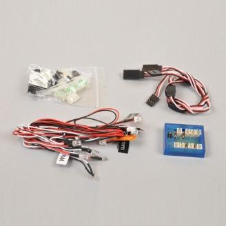 Kit 12 LEDs RC - GT Car - à monter - T2M T422531