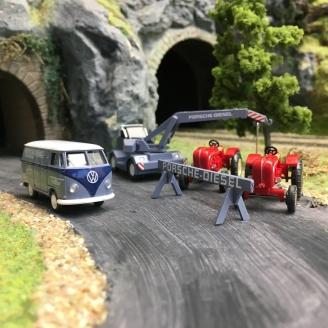 """Coffret """"Porsche-Diesel""""-HO 1/87-WIKING 099095"""
