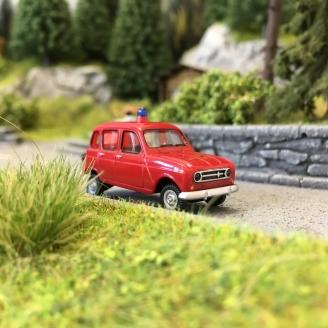 Renault 4L Pompiers-HO 1/87-WIKING 022447