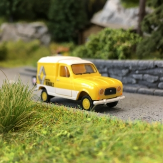 Renault 4L (F4) Fourgonnette Service-HO 1/87-WIKING 022503