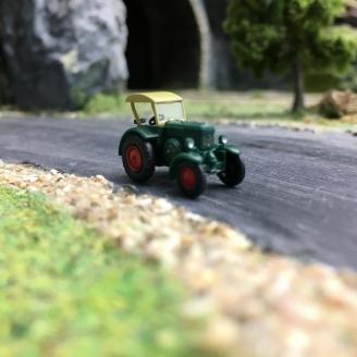 Tracteur Lanz Bulldog capoté-N 1/160-WIKING 095138