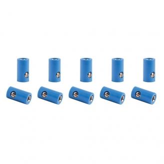 10 connecteurs femelle ROUGE (bornes)-toutes échelles-VIESSMANN 6880