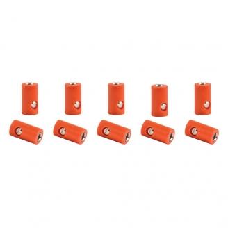10 connecteurs femelle ORANGE (bornes)-toutes échelles-VIESSMANN 6884