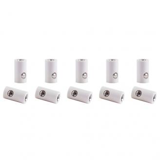 10 connecteurs femelle NOIR (bornes)-toutes échelles-VIESSMANN 6886