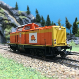 Locomotive BR212 COLAS RAIL Ep VI digital son 3R-HO 1/87-MARKLIN 39214