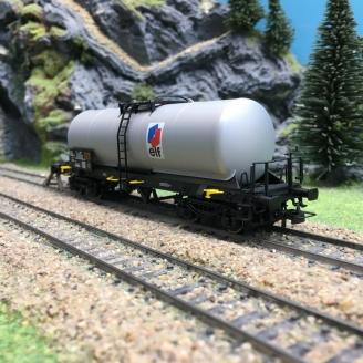 Wagon citerne ELF Ep IV SNCF-HO 1/87-JOUEF HJ6180