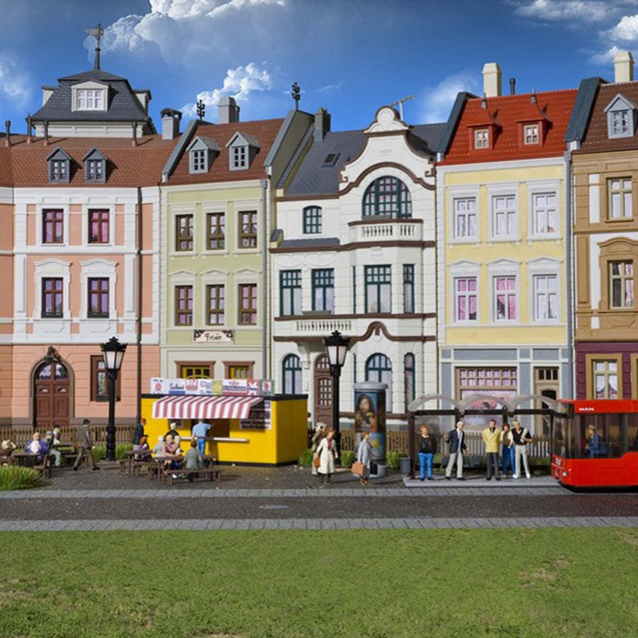 Set décoration urbaine-HO-1/87-KIBRI 38102