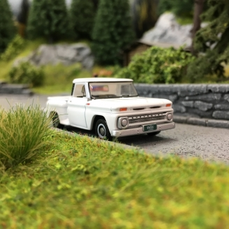 Pick-Up Chevrolet Stepside 1965-HO-1/87-OXFORD 87CP65005