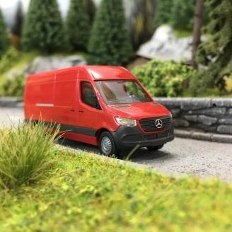 Mercedes Sprinter Long Red Oh 1 87 Busch 52601 Ebay