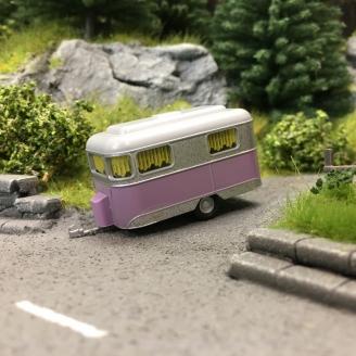 Caravane Nagetusch-HO 1/87-BUSCH 51704