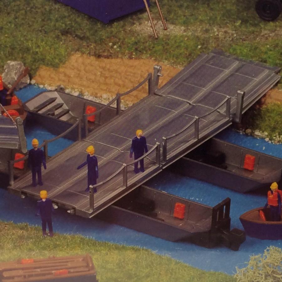 Pont de travail mobile-HO-1/87-KIBRI 38135
