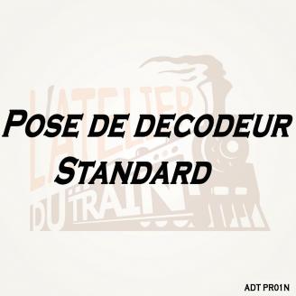 Pose de décodeur standard sur Loco Neuve pré-équipée-N-ADT PR01N