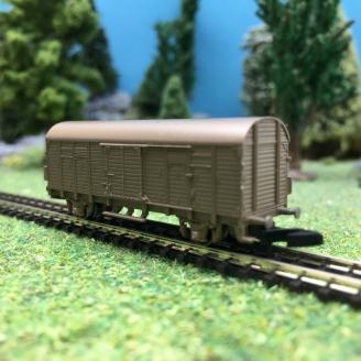 Wagon couvert Gl Dresden en Bronze série limitée-Z 1/220-MARKLIN 82170