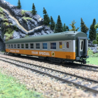 Voiture 2CL TRAIN SPECIAL FTS SNCF-HO 1/87-ROCO 44622 DEP67-294
