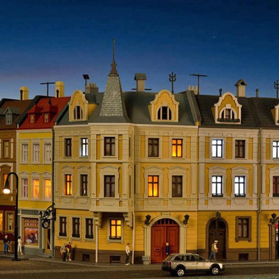 Maison de ville d'angle-HO-1/87-KIBRI 38296