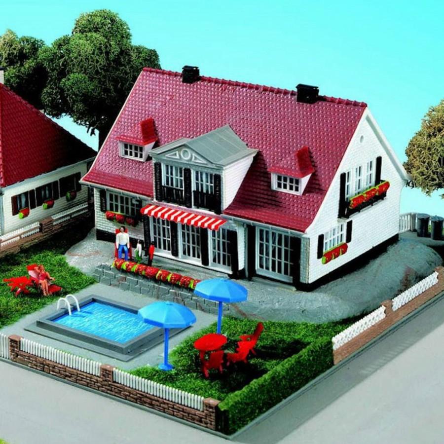 Villa de campagne-HO-1/87-KIBRI 38332