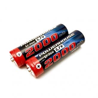 Batterie Li-Ion 3.7 volts / 2000 mAh , 2 pièces - T2M T4933/19