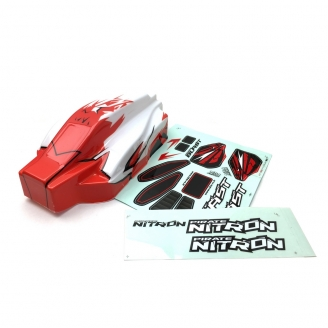 Carrosserie Pirate Nitron Rouge - 1/10 - T2M T4926/1R