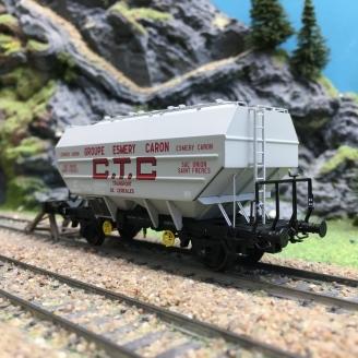 Wagon céréalier RICHARD CTC Ep III E.CARON-HO 1/87-REE WB553