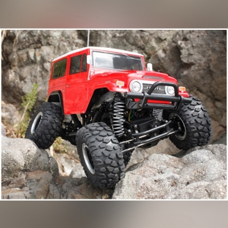 Toyota BJ-40 Land Cruiser 4WD CR-01 Kit - 1/10 - TAMIYA 58405