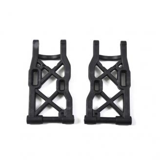 Kit 2 triangles arrière inférieur pour chassis Pirate 8.6 1/8 - T2M T4791/22