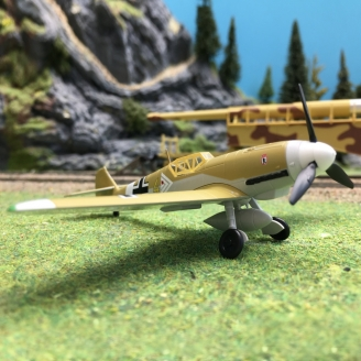 Messerschmitt BF 109-HO 1/87-BUSCH 25020