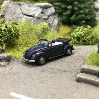 VW Coccinelle Cabriolet Violette-HO 1/87-AWM 0020VIO