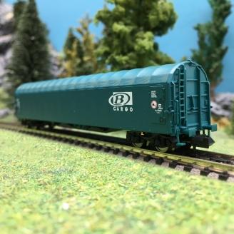 Wagon baché Cargo SNCB Ep VI-N 1/160-FLEISCHMANN 837701