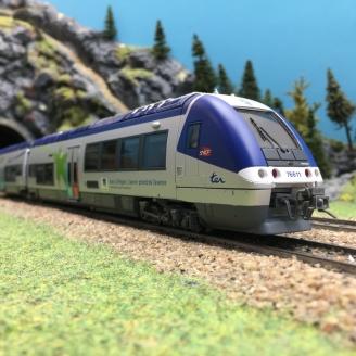 AGC X76600 Basse Normandie  Sncf ép V/VI digital son -HO 1/87- LSMODELS 10074S