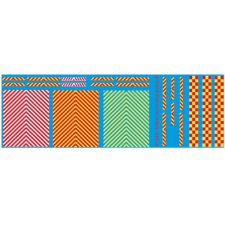 Zebras décalcomanies-HO 1/87-TCHOUTCHOU 87048