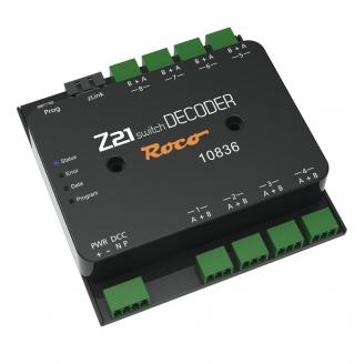 Décodeur de commutation DCC Universel Z21-Toutes échelles-ROCO 10836