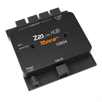 HUB 4 sorties pour Z21 (Noire)-ROCO 10804