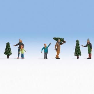 Vente de sapins de Noël-HO 1/87-NOCH 15927