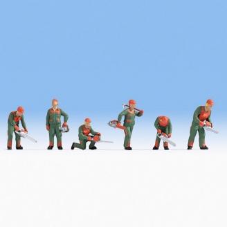 6 Forestiers / Bûcherons-N 1/160-NOCH 36061