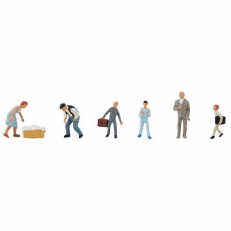6 personnages d'internat - HO 1/87 - FALLER 150950