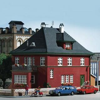 Maison individuelle brique-HO-1/87-KIBRI 38718