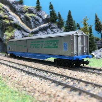 Wagon à parois coulissantes FRET SNCF -HO 1/87-LIMA Hobby HL6103