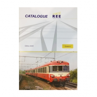 "Catalogue REE ""N"" 2020 32 pages Fr / Ang / All-N 1/160-REE 2020"