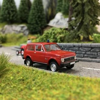 Lada Niva 4x4 Pompiers-HO 1/87-BREKINA 27238
