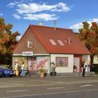 Maison individuelle avec commerce-HO-1/87-KIBRI 38720