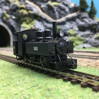 Locomotive Baldwin Class 10-12-D 542 WDLR-HOe 1/87-Bachmann 391-025A