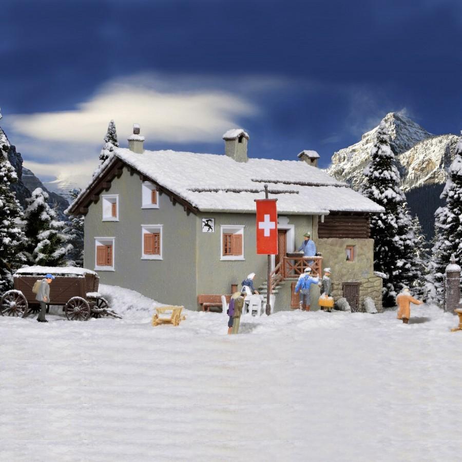 Auberge de montagne-HO-1/87-KIBRI 38811