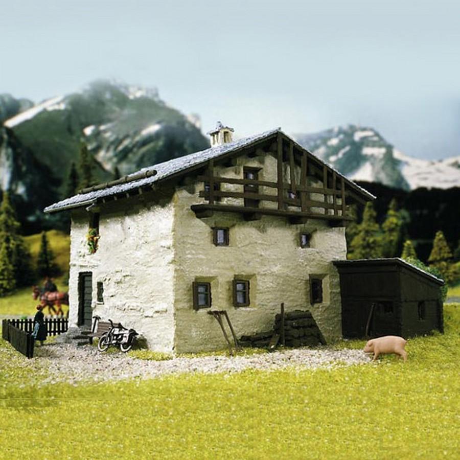 Chalet de montagne-HO-1/87-KIBRI 38812
