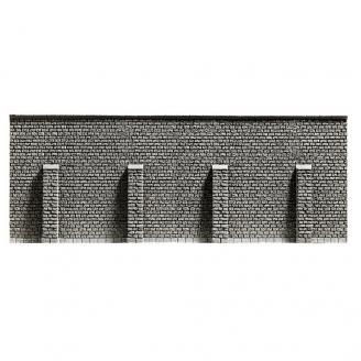Mur de pierres-HO 1/87-NOCH 58054