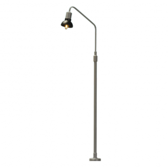 Lampadaire Courbé Simple-HO 1/87-BRAWA 84054